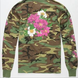 Asphalt Camo Long Sleeve